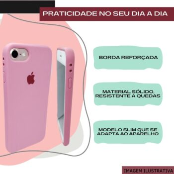 CAPA PROTETORA COLORIDA TPU AMARELO – IPHONE 12 PRO MAX