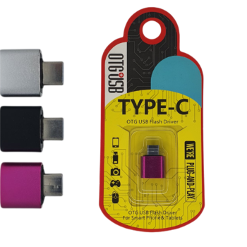 ADAPTADOR ENTRADA USB PARA SAÍDA TIPO-C