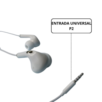 FONE DE OUVIDO H' MASTON EARPHONE (EJ33)