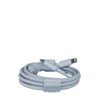CABO PARA IPHONE NOVO – SAÍDA LIGHTNING E ENTRADA USB TIPO-C